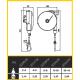 Equilibreur de charge ATEX 2 à 14 kg