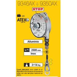 Equilibreur de charge ATEX avec frein 2 à 14 kg