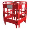 Barrière de protection polyéthylène 4 portes