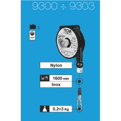 Équilibreur de charge cable inox de 0,2 à 3 kg suivant modeles