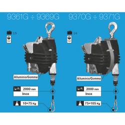Équilibreur à câble INOX de 10 à 105 kg