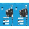 Équilibreur de charge aluminium et caoutchouc cable Inox corps en plastique charge de 10 à 105 kg suivant modeles