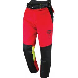 Pantalon de bûcheron extensible et coupe ajustée