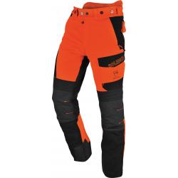 Pantalon de bûcheron extremement flexible Orange