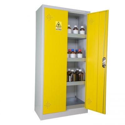 Armoire jaune haute de sûreté pour les produits dangereux