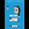 Équilibreur de charge cable inox de 0,4 à 3 kg suivant modeles
