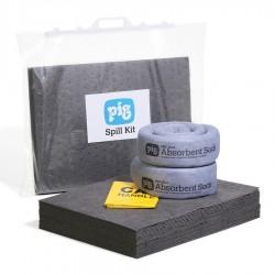 Kit d'absorbants dans un sac clipsable