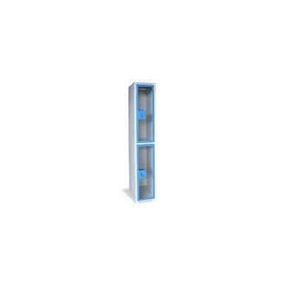 Vestiaire industriel transparent