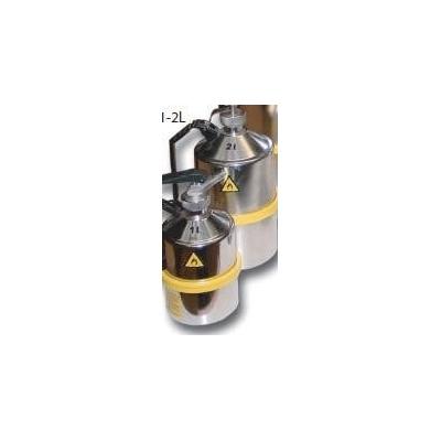 Bidon de sécurité en acier inoxydable Trionyx 1 litre