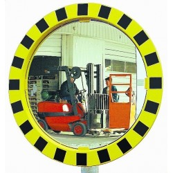 Miroir circulation sécurité rond 600