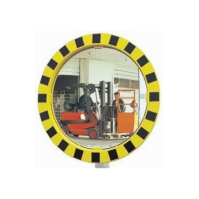 Miroir circulation rond sécurité routiere