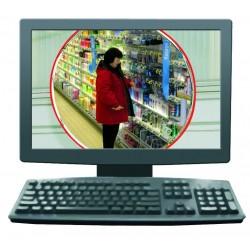 Miroir vidéosurveillance