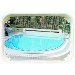 Miroir surveillance piscine
