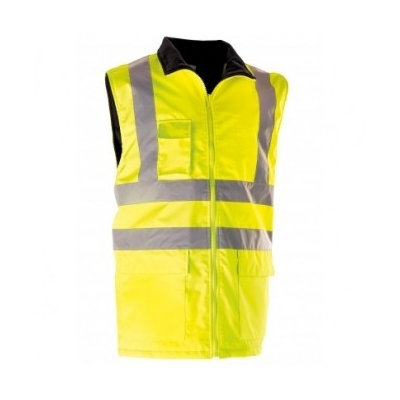 Gilet de signalisation jaune