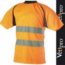 T-shirt haute visibilité orange