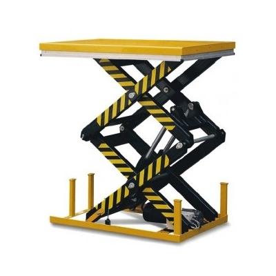 Table élévatrice électrique 2 ciseaux