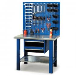 Etabli professionnel d'atelier métallique