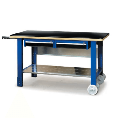 table de travail mobile 1500 x 700 mm. Black Bedroom Furniture Sets. Home Design Ideas