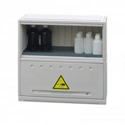 Armoire en polyéthylene 2 compartiments 70 L