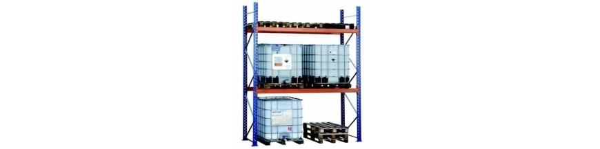 Rayonnage industriel cantilever metallique