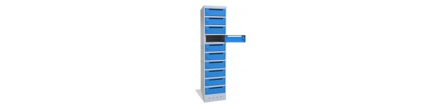 Vestiaires armoires a casiers electriques