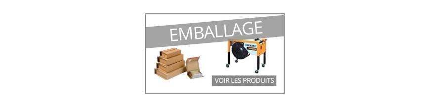 Emballage Vente de consommables machine