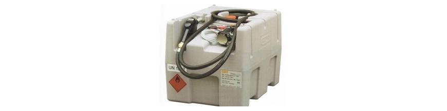 Stations de ravitaillement mobiles industrielles et professionnelles gasoil essence