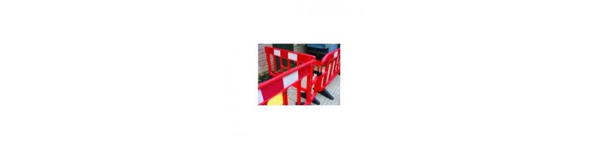Barrière de signalisation en pvc