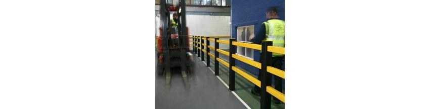 Barrières de protection piétons