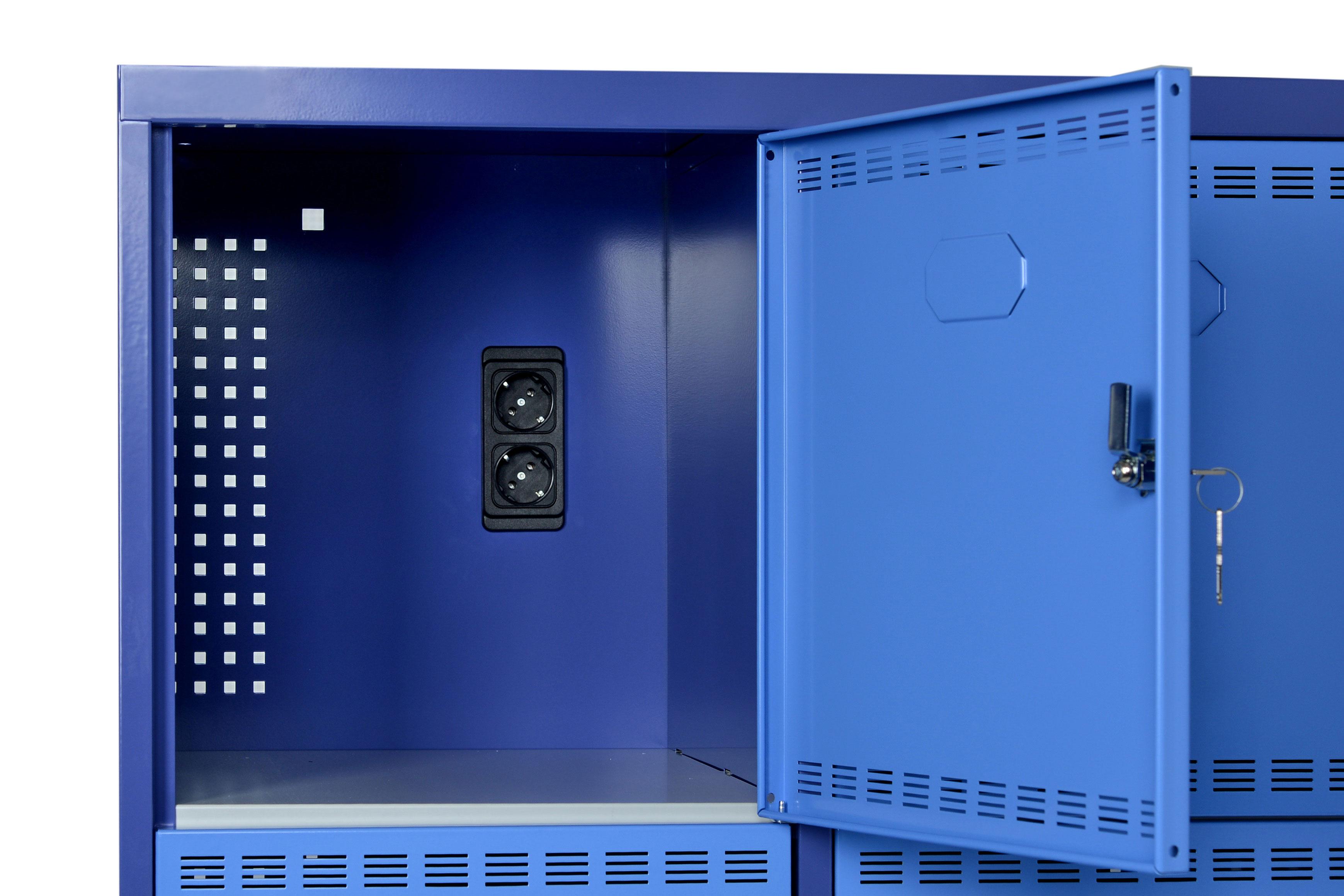 casier armoire avec prise lectrique. Black Bedroom Furniture Sets. Home Design Ideas